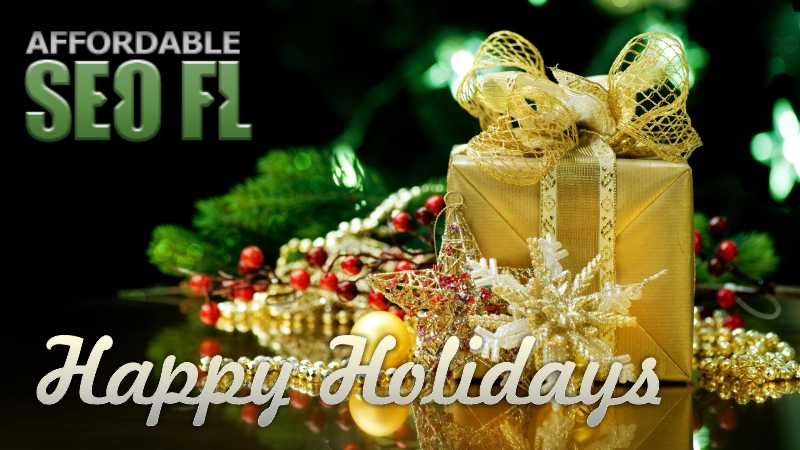 asfl hh Affordable SEO Tampa Wishing Safe and Happy Holidays!
