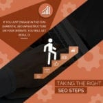 1.Taking The Right SEO Steps