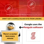 1. Don't Get A Google Black Eye From Linking