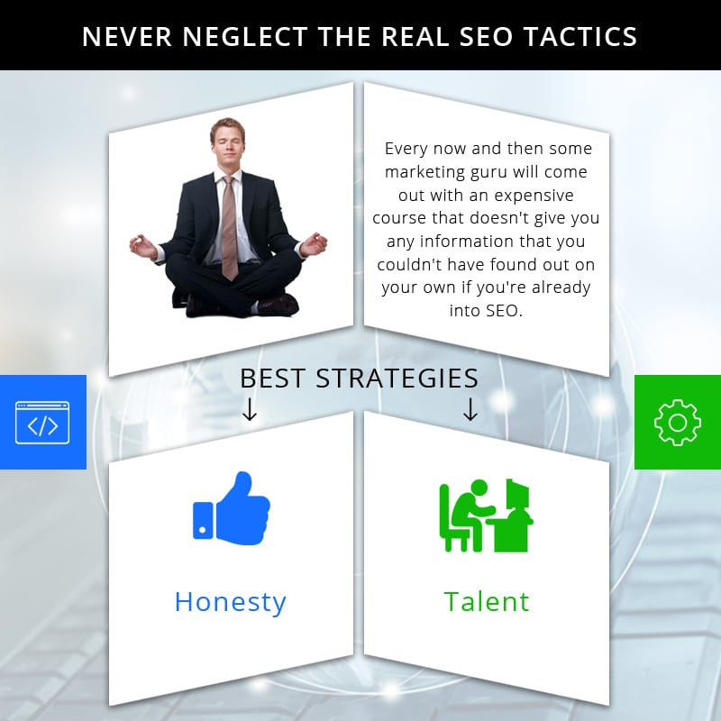 Never Neglect The Real SEO Tactics