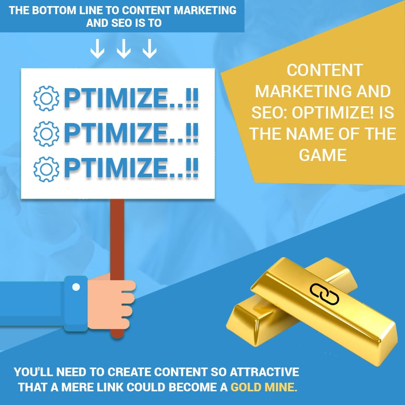 Content Marketing And SEO: Optimize! Is The Name Of The Gameame