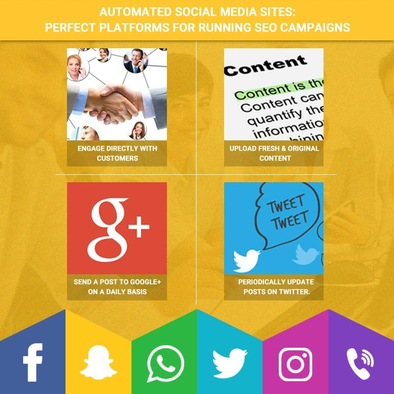 Automated Social Media Sites: Perfect Platforms for Running SEO Campaigns