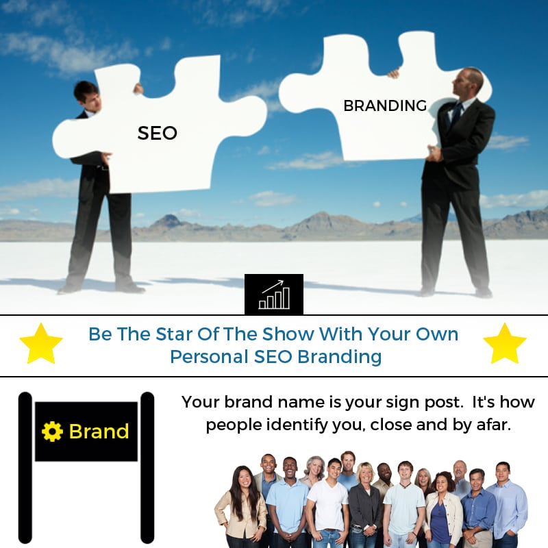 Be The Star Of The Show With Your Own Personal SEO Branding