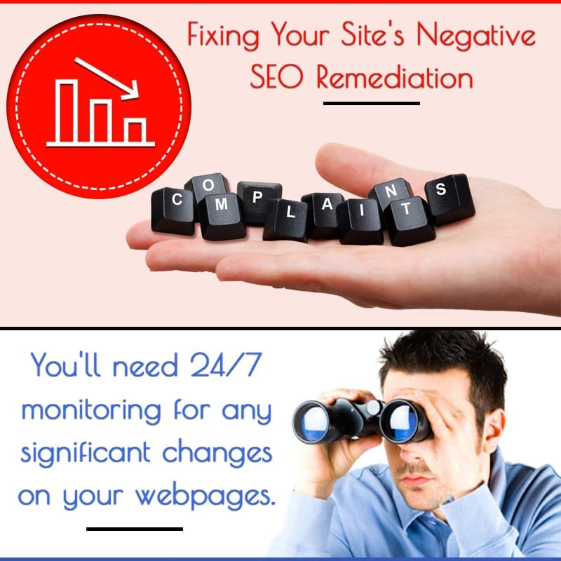 Fixing Your Site's Negative SEO Remediation