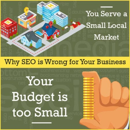 Why SEO is the Wrong Tool For Small Business