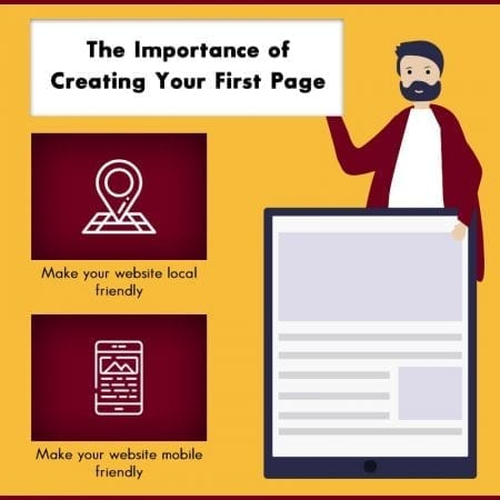 The Importance Of Creating Your First Page