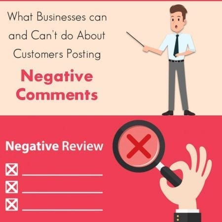 What Businesses Can And Can't Do About Customers Posting Negative Comments