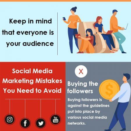 Social Media Marketing Mistakes You Need To Avoid